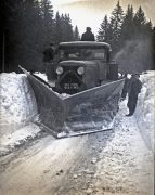 Chasse-neige Latil H2FTR 1952