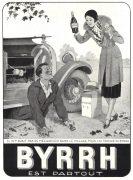 pub alcool Byrrh 1930