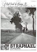 publicité alcool St-Raphael 1937