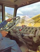 Berliet dumper intérieur cabine 1964